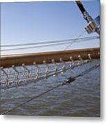 Sailboat Bowsprit Metal Print by Dustin K Ryan