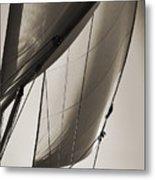 Sailing Beneteau 49 Sloop Metal Print by Dustin K Ryan