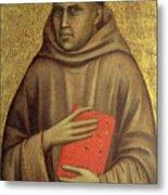 Saint Anthony Abbot Metal Print by Giotto di Bondone