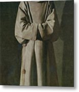 Saint Francis Metal Print by Francisco de Zurbaran