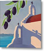 Saint Jean Olive Oil Metal Print by Mitch Frey
