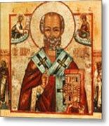 Saint Nicholas Metal Print by Granger