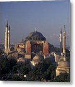 Saint Sophia Hagia Sophia Metal Print by Richard Nowitz