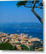 Saint-tropez - Provence Metal Print by Martial Colomb