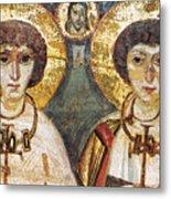 Saints Sergius And Bacchus Metal Print by Granger