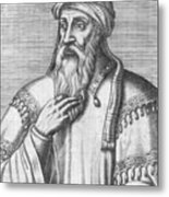 Saladin, Sultan Of Egypt And Syria Metal Print by Photo Researchers