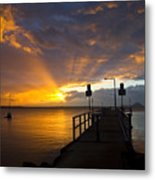 Salamander Bay Sunrise Metal Print by Avalon Fine Art Photography