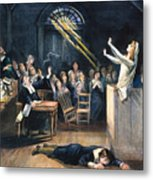 Salem Witch Trial, 1692 Metal Print by Granger