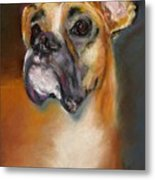 Sam Metal Print by Frances Marino