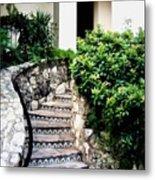 San Antonio Stairway Metal Print by Will Borden