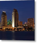 San Diego America's Finest City Metal Print by Larry Marshall