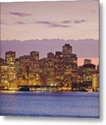 San Francisco Skyline Metal Print by Bryan Mullennix