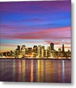 San Francisco Sunset Metal Print by Photo by Alex Zyuzikov