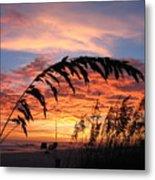 Sanibel Island Sunset Metal Print by Nick Flavin