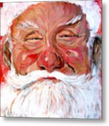 Santa Claus Metal Print by Tom Roderick
