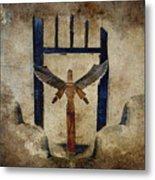 Santo Metal Print by Carol Leigh
