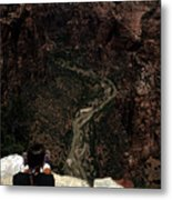 Scenic View Of Zion National Park Metal Print by Stacy Gold
