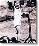 Scooter 1941 Metal Print by Don Wolf
