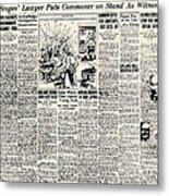 Scopes Trial, 1925 Metal Print by Granger