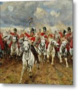 Scotland Forever Metal Print by Elizabeth Southerden Thompson
