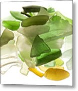 Sea Glass Metal Print by Fabrizio Troiani