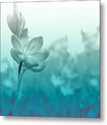 Sea Green Haze Metal Print by Barbara  White