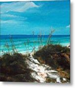 Seagrove Beach Florida Metal Print by Racquel Morgan