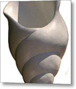 Seashell One Metal Print by Katia Weyher