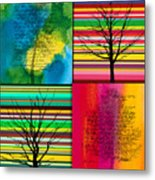 Seasons Metal Print by Ramneek Narang