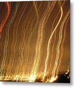 Seattle Burning At Night Metal Print by Silvie Kendall