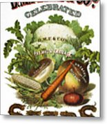 Seed Company Poster, C1800 Metal Print by Granger