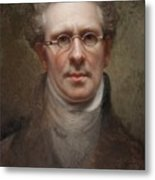 Self Portrait Metal Print by Rembrandt Peale