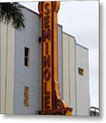 Seminole Theatre 1940 Metal Print by David Lee Thompson
