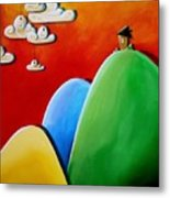 Send In The Clouds Metal Print by Cindy Thornton