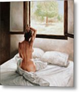 September Morning Metal Print by John Worthington