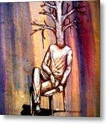 Series Trees Drought 2 Metal Print by Paulo Zerbato