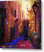 Shabbat Shalom Metal Print by Talya Johnson