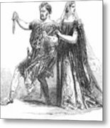 Shakespeare: Macbeth, 1845 Metal Print by Granger