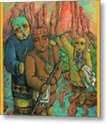 Shamans Of Sedona  Metal Print by Janice Hightower