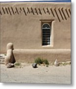 Shape And Pattern Metal Print by Jerry McElroy