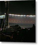 Shea Stadium Metal Print by Chuck Kuhn