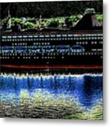 Shipshape 8 Metal Print by Will Borden