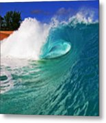 Shorebreaker Metal Print by Paul Topp