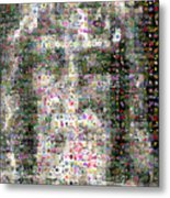 Shroud Of Turin Metal Print by Gilberto Viciedo