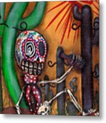 Siesta  Metal Print by  Abril Andrade Griffith