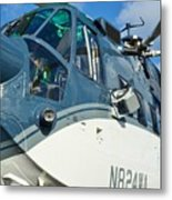 Sikorsky S-61n Metal Print by Lynda Dawson-Youngclaus