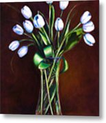 Simply Tulips Metal Print by Shannon Grissom