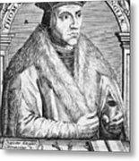 Sir Thomas More (1478-1535) Metal Print by Granger