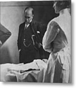 Sir William Osler 1849 – 1919, Reading Metal Print by Everett