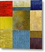 Skinny Color Study Ll Metal Print by Michelle Calkins